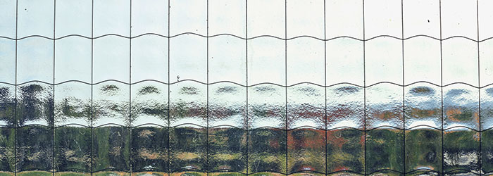 draadglas Houten